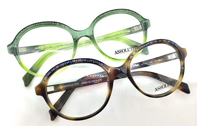 Assoluto sparkling eyewear