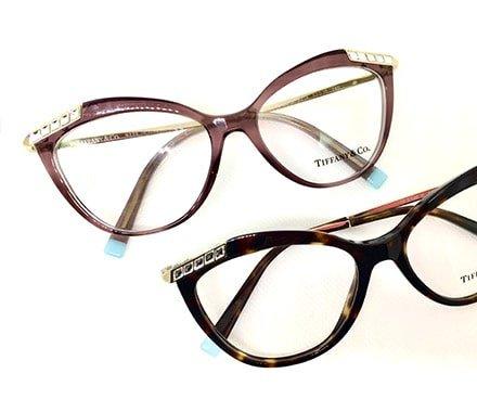 occhiali da vista in stile cat-eye