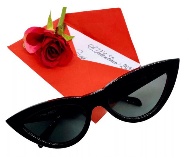 occhiale da sole donna Celine nero