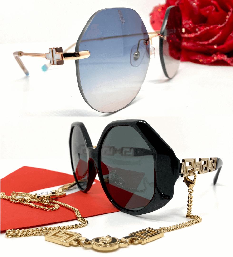 occhiali da sole donna Tiffany e Versace