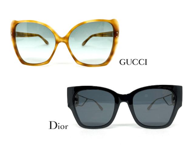 gli occhiali da sole Gucci