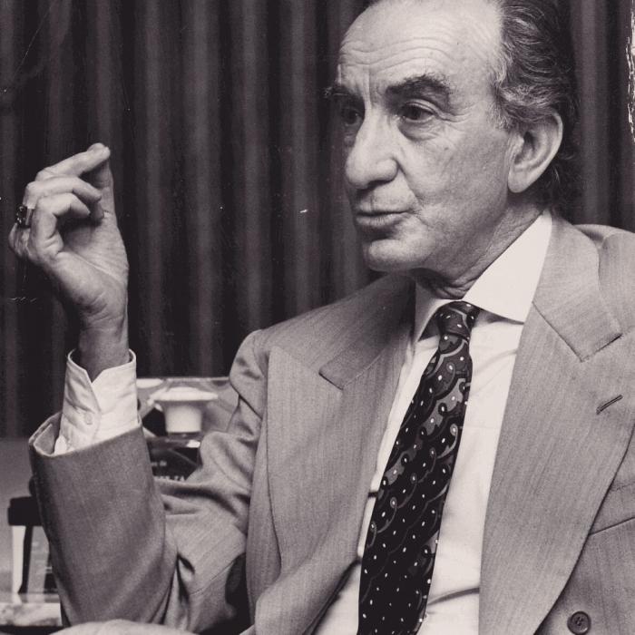stilista Emilio Pucci 1973