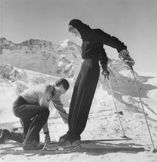 Tuta da sci disegnata da Emilio Pucci per un'amica nel 1947