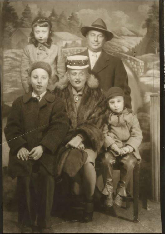 ritratto famiglia Moscot