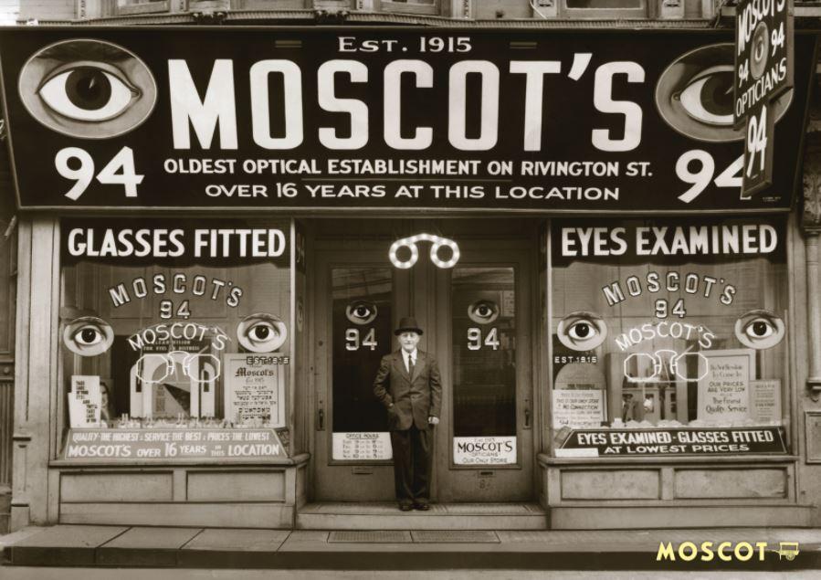 storico negozio moscot new york