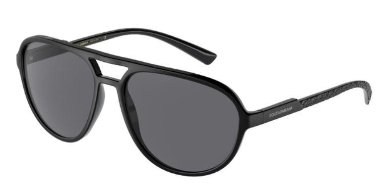 occhiali da sole Dolce & Gabbana montatura total black