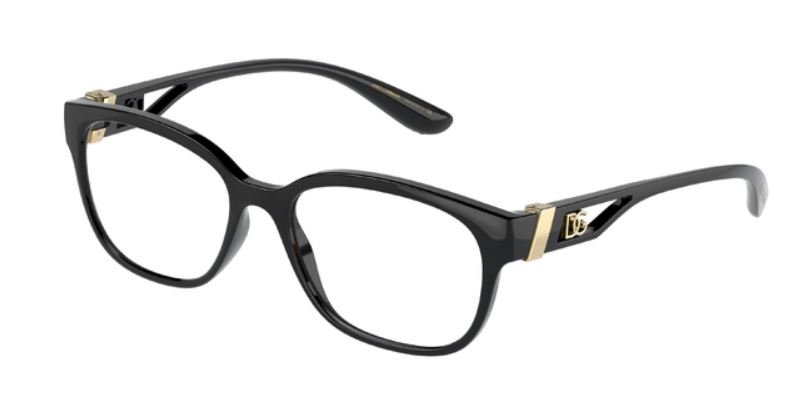 occhiali da vista Dolce & Gabbana montatura nera