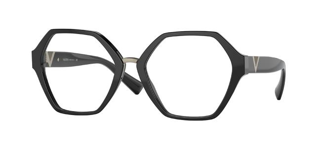 occhiali da vista montatura esagonale Valentino