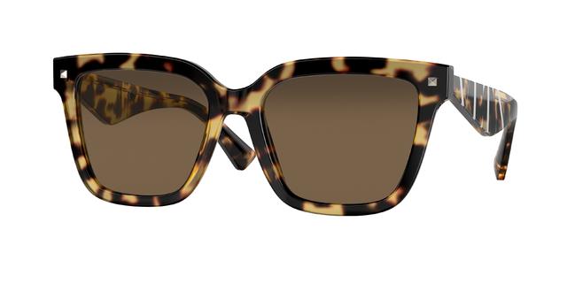 occhiali da sole Valentino montatura tartaruga